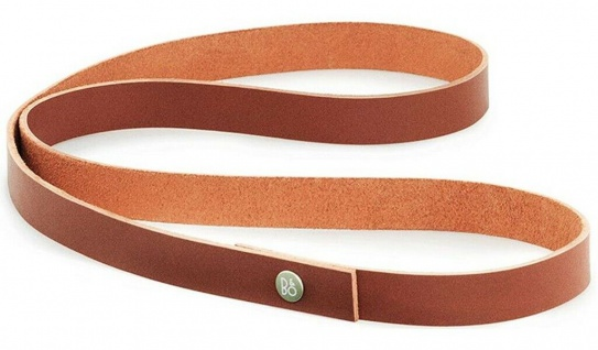 B&O Play by BANG & Olufsen Beoplay A2 Long Strap Red Rot Leder-Riemen Griff Lang