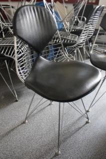 VITRA DKR-2 Eames Chair Eifel Wire Chair Bikini Leder