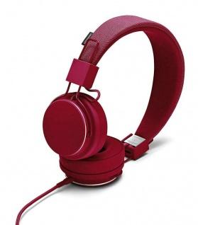 Urbanears Plattan II 2 Headset Beryl Red On-Ear Kopfhörer Mikrofon Fernbedienung