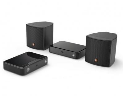 Hama Rear Funk Lautsprecher Dolby Surround Erweiterungs-Set für TV Soundbar 2.0
