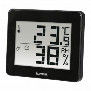 Hama Thermo- und Hygro-meter TH-130 Innen-Thermometer Hygrometer Kabellos