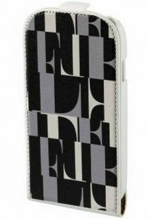 ELLE Flip-Tasche Cover Schutz-Hülle Wallet Tasche für Samsung Galaxy S4 Mini S 4