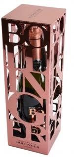 Bollinger Champagne Rosé 2006 Limitierte Edition Metallgehäuse vintage Box 12%