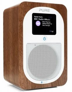 Pure Evoke H3 Digital-Radio DAB DAB+ UKW Küchen-Radio Bluetooth Display Wecker