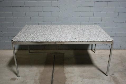 USM Haller Tisch 175x100cm Schreib-Tisch Französischer Granit Stein Format TOP
