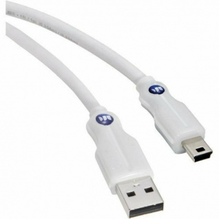 Monster Cable HQ USB-A auf Mini-USB USB-Kabel Adapter Typ B Stecker Ladekabel