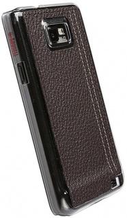 Krusell Gaia UnderCover für Samsung Galaxy S2 i9100 Leder-Tasche Etui Bag Hülle