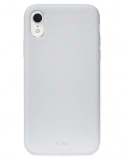 Puro ICON Cover Silikon Schutz-Hülle Soft-Case Tasche Schale für Apple iPhone XR