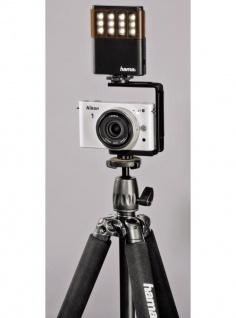 Hama LED-Leuchte Power Foto/Video Fotolicht Blitzschuh Kamera Licht Kopflicht - Vorschau 4