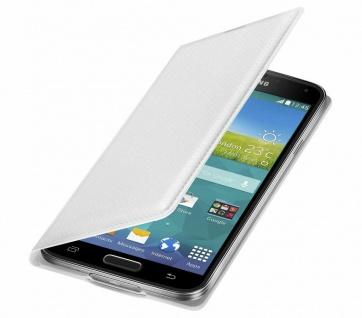 Original Samsung Flip-Cover Case Klapp-Tasche Schutz-Hülle Etui für Galaxy S5
