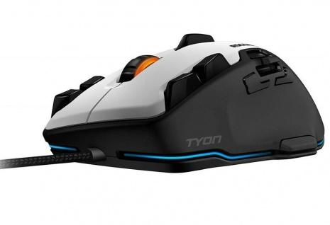 Roccat Tyon Multi-Button USB Gaming Mouse Laser Gamer Maus 8200dpi Daumen-Tasten
