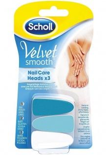 Scholl Velvet Smooth Ersatz-Feilen Aufsätze für Elektrisches Nagelpflege-System