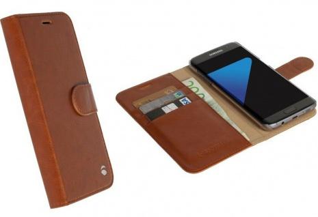 Krusell Folio Wallet 2in1 Tasche Smart Hülle Cover für Samsung Galaxy S7 Edge