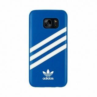 Adidas Cover Blau Hard-Case Tasche Schutz-Hülle Box Schale für Samsung Galaxy S7