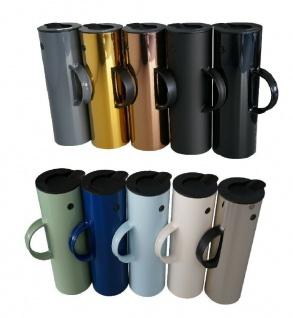 Stelton Isolierkanne EM77 Design-Klassiker Kaffee-kanne Thermoskanne Behälter 1l