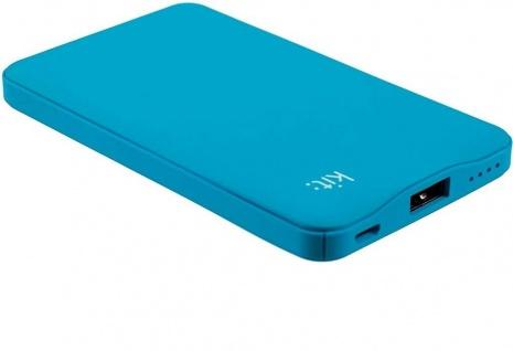 KIT FRESH Mobile Power-Bank 6000mAh Premium Range Externer Akku USB Ladegerät