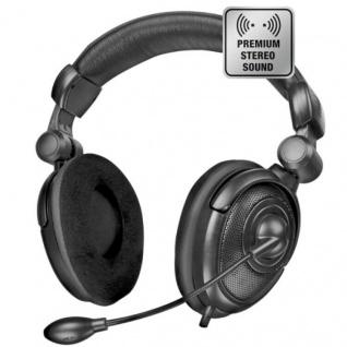 Speedlink Medusa NX Stereo PC Gaming Headset Kopfhörer Over-Ear Bügel-Mikrofon