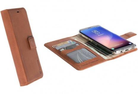 Krusell Folio Wallet Tasche Smart Schutz-Hülle Case Cover für Samsung Galaxy S8+