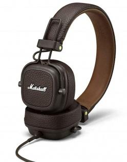 Marshall Major III On-Ear Headset Brown 3, 5mm HiFi Studio Kopfhörer Headphones