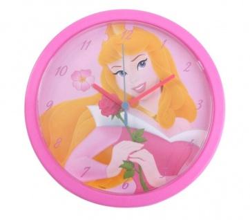 Kinder Wanduhr Motiv Disney Princess Uhr Kinder-Uhr Mädchen-Zimmer Prinzessin