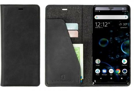 Krusell Folio Wallet Tasche Smart Schutz-Hülle Case Cover für Sony Xperia XZ3
