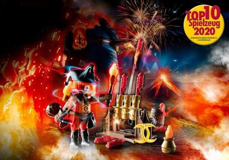 Playmobil Burnham Raiders Feuerwerkskanonen und Feuermeister Feuerwerk Spielzeug