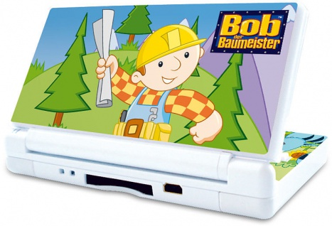 ´Schutz-Folie Aufkleber Sticker Bob der Baumeister M1 für Nintendo DS Lite DSLit