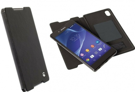 Krusell Folio Wallet 2in1 Tasche Smart Hülle Cover für Sony Xperia Z5 Compact
