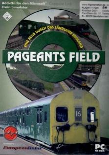 Eine Reise durch das ländliche England - Pageants Field Lokomotive Züge