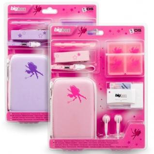 Zubehör-Set Fairies Hard-Case Tasche Spiele-Hülle für Nintendo DS Lite