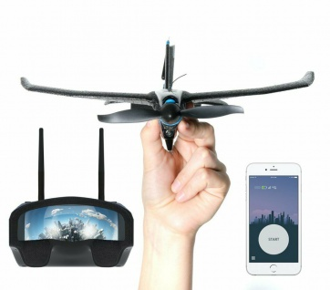 Toby-Rich Smart-Plane Pro FPV+ VR Stunt-Flugzeug Racing Drohne RC Handy App