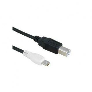 Hama USB-Kabel 2.0 OTG On the Go Kabel Mini-USB-A USB-B Stecker Handy Tablet PC