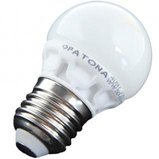 Patona LED-Lampe Mini Birne E27 5, 5W / 45W Warmweiß Ball Glühbirne Leuchtmittel