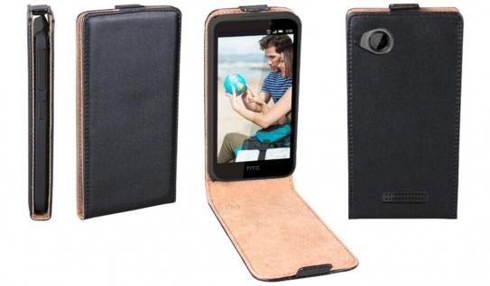 Patona Slim Flip Cover Klapp-Tasche Schutz-Hülle Cover Case für HTC Desire 320