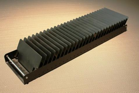 Original USM Haller CD Medien Einsatz für 35er Schublade Auszug Klappe Regal