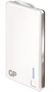 GP 2500mAh Power-Bank Externer Zusatz-Akku USB Ladegerät Batterie Handy Tablet - Vorschau 3