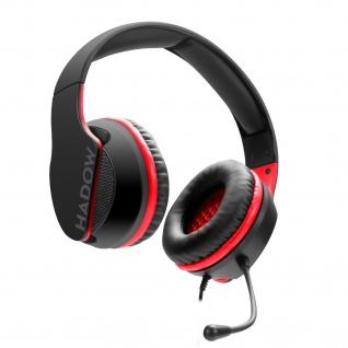 SPEEDLINK HADOW Gaming Headset Kopfhörer für PC PS5 PS4 Xbox SeriesX/S Switch