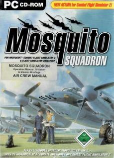 Mosquito Squadron für FS 2000/2002 Flug-Simulator Flugzeug Helikopter