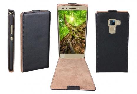 Patona Slim Flip-Cover Klapp-Tasche Schutz-Hülle Cover Case für Huawei Honor 7