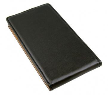 Patona Slim Flip Klapp-Tasche Schutz-Hülle Cover Case für Samsung Galaxy Note 4