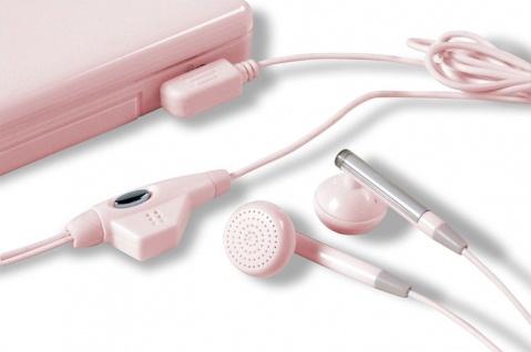 SL Headset PINK Kopfhörer + Mikrofon für Nintendo DSi DSi DSi XL DS Lite DS NDS