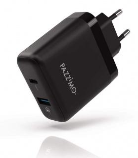 Netz-Ladegerät 6A 33W USB-C USB QC 3.0 Netzteil für Apple Samsung Huawei Xiaomi