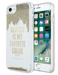 Kate Spade New York Liquid Glitter Cover Hard-Case Hülle für Apple iPhone 7 + 8