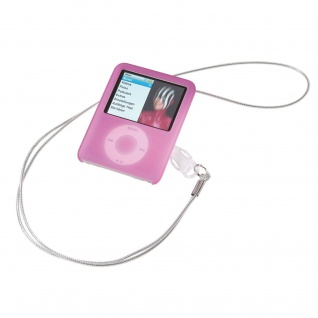 Vivanco Case Silikon-Hülle für Apple iPod Nano 3 3G Etui Tasche 3. Generation