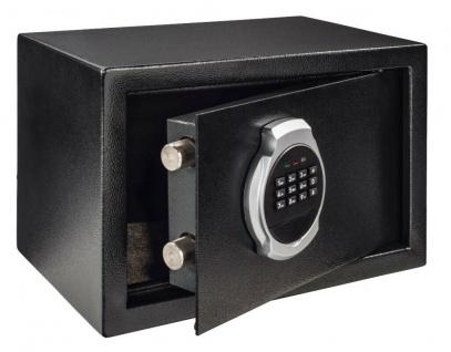 Hama Elektronischer Tresor Möbeltresor Premium EP-200 Safe Geld-Schrank Wand