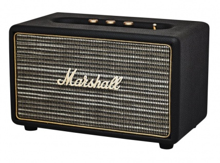 Marshall Acton Black Bluetooth Lautsprecher BT Speaker Retro Boxen Aktiv Box