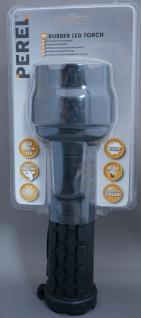 Perel LED Taschenlampe CREE 3W Gummi wasserdicht IP44 Lampe hell Outdoor Camping