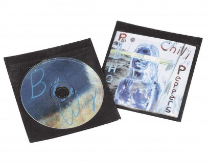 Hama 50x Schutz-Hüllen CD-Hüllen Sleeves für 2x CD DVD Blu-Ray Booklet CD-Tasche