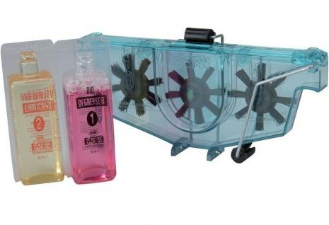Nigrin Pack Ketten-Reinigungsgerät Fahrrad-Kette Reiniger Ketten-Reinigung Kit