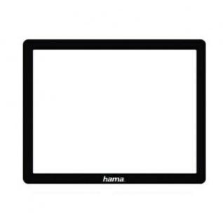 Hama LCD Display Schutzglas Glas-Folie für Sony Alpha 100 Kamera-Display